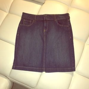 OLD NAVY jean skirt size 12